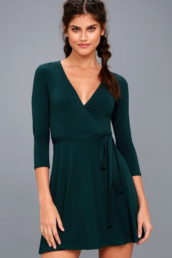 15+ Green wrap dress ideas in 2021