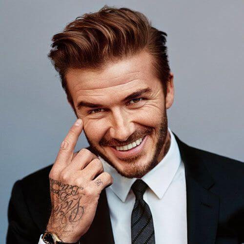 Athletic Hairstyle Beckham Haircut David Beckham Haircut Mens Hairstyles