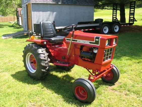 International Garden Tractor Small Garden Tractor Garden