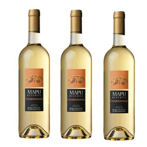 Rượu Vang Mapu White 12,5% - Chai 750ml - Rượu Vang Nhập Khẩu