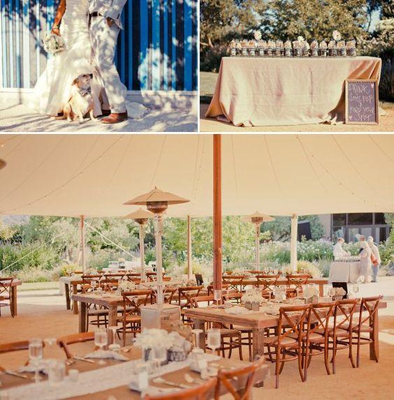 Jen Zach S Wedding Cornerstone Gardens Sonoma Tenting Pinterest And