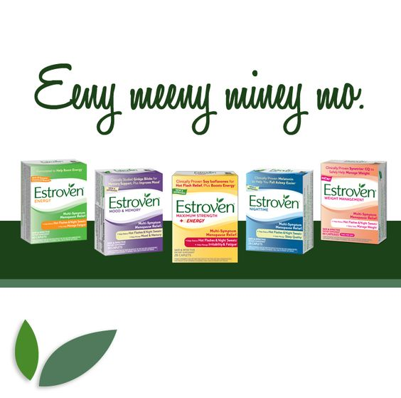 Eeny meeny miney mo. Which #Estroven product will you pick this week? #Original