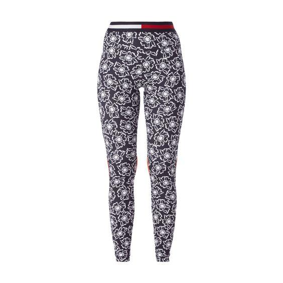 #Tommy Hilfiger Damen Sweatpants mit floralem Muster         #Modeonlinemarkt.de