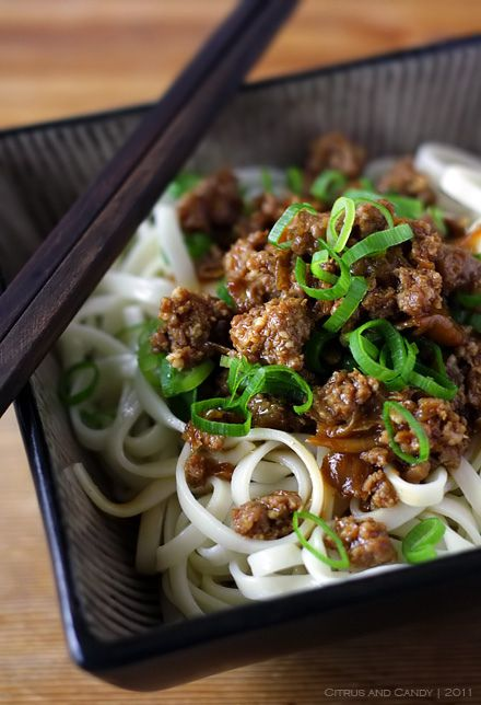Asian food has a multitude of flavors and textures, I guess that's why I gravitate toward it. It's exciting.