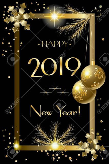 Happy New Year 2019 Iphone Wallpapers For Friends Family Happynewyear2019 Iphonew Happy New Year Greetings Happy New Year Wallpaper New Year Wishes Images