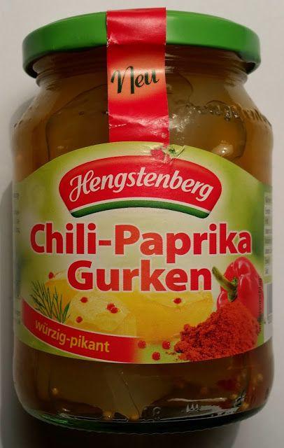 Chilihead Icewolf77: Hengstenberg - Chili-Paprika Gurken