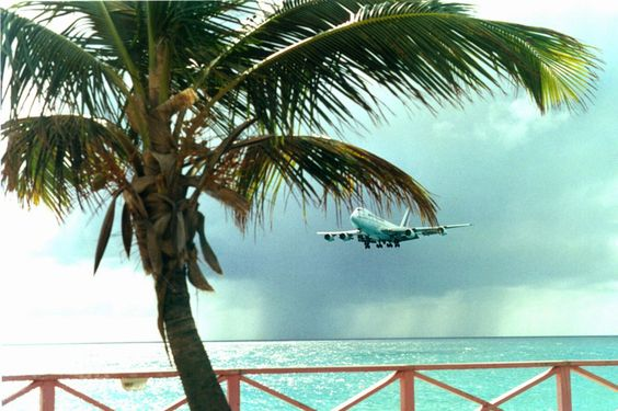 avion  -  Photos de vacances de Antilles Location #SaintMartin