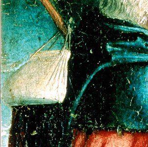 Bag with wooden bars: 1475-1480  Fluegelaltar Meister Von Uttenheim Suedtirol