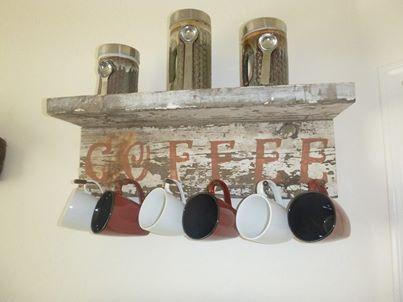coffee rack
