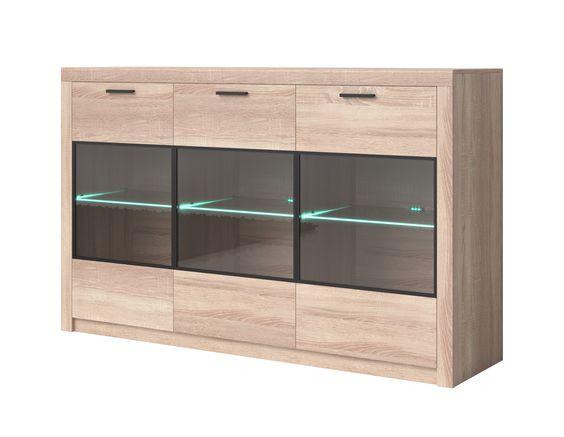 Sideboard Nemezis Typ43 Oak Sideboard Cheap Black Dresser Modern Chest Of Drawers