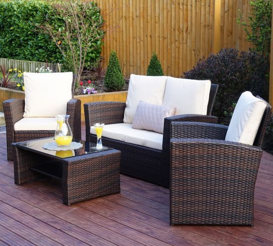 Garden Furniture Made Of Polyrattan Patio Furniture Sets
