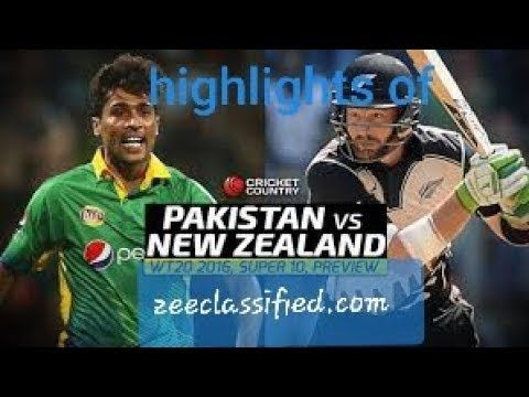 Highlights Of Today Match Pak Vs New Zealand Youtube With Images Match Highlights Pakistan Match New Zealand
