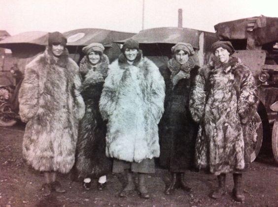 Love these feisty WW1 women