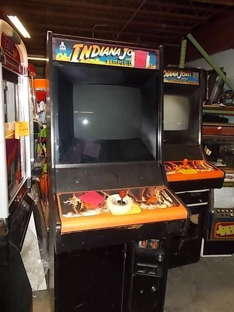 INDIANA JONES AND THE TEMPLE OF DOOM #251 Upright Arcade Game by ...