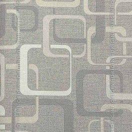 Papel de parede Decoração Geométrico Origini 136-61,Wallpaper, Importado, Lavável, Textura de Tecido, Tons de Bege e Cinza