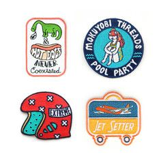 Party Badge Set, $20, now featured on Fab.