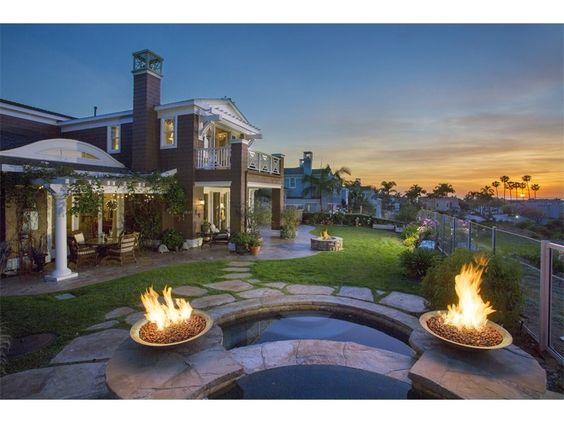 Deborrah Henry 858 776 8585 ~ 5 bedrooms / 4 full bathrooms and 1 partial bathrooms - 206 Gibson Point - Solana Beach California 92075 - $4,150,000 -