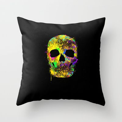Amazing Thorw pillow for only 20$  http://society6.com/product/death-can-be-cool-too_pillow#25=193&18=126