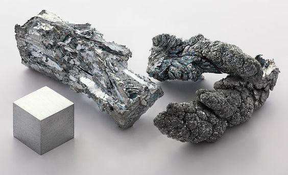 Zinc raw material