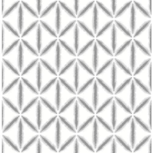 Nuwallpaper 30 75 Sq Ft Grey Vinyl Geometric Self Adhesive Peel And Stick Wallpaper Lowes Com Nuwallpaper Peel And Stick Wallpaper Wallpaper Samples