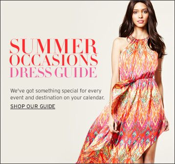 Summer Occasions Dress Guide
