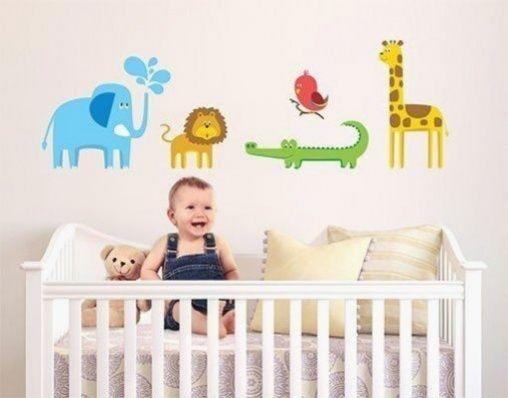 Wandtattoo Zootiere In 2020 Baby Tapeten Wandtattoo Wandtattoos