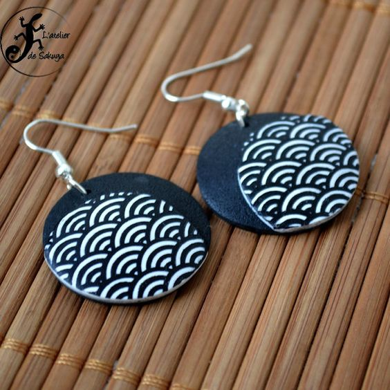 Hey, I found this really awesome Etsy listing at https://www.etsy.com/listing/260168023/seigaiha-earings