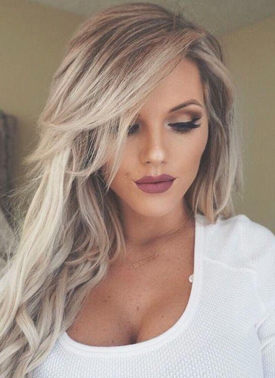 Long Hair Layers Bangs Long Layered Hair Style With Bangs Longhaircolor Hair Styles Long Layered Hair Long Hair Styles