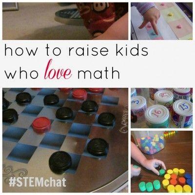 How to raise kids who love math from Teach Mama