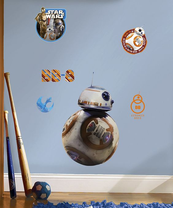 Look what I found on #zulily! Star Wars The Force Awakens Six-Piece Wall Decal Set by Star Wars #zulilyfinds