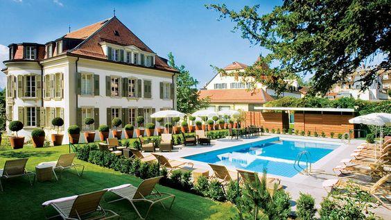 Lausanne, Switzerland: Beautiful Hotels, Amazing Destinations, Europe Travel, Travel Destinations, Dreamy Destinations