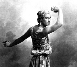 Vaslav Nijinsky 1889- 1950 cited as the greatest male dancer of the early 20th century