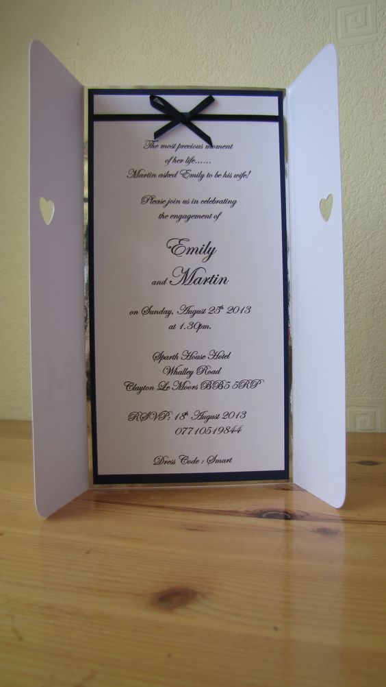 Engagement Invitation Wording My wedding Pinterest - engagement invitation words