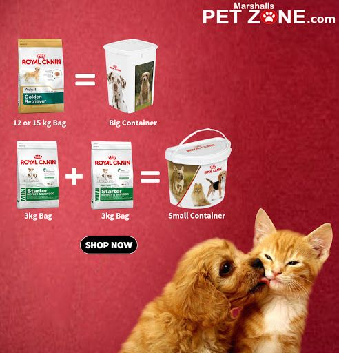 Now Get A Free Big Container On Selected 12kg Or 15 Kg Royal Canin