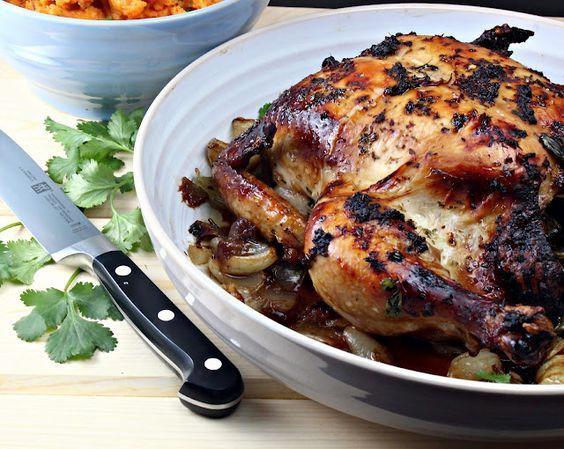 Spicy Thai Roast Chicken