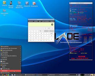 Utilizando e configurando o desktop LXDE no Slackware, Salix e derivados.