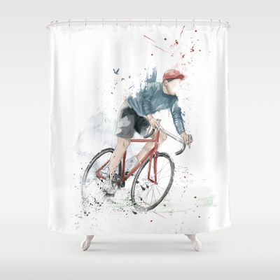 Shower curtain by Society6