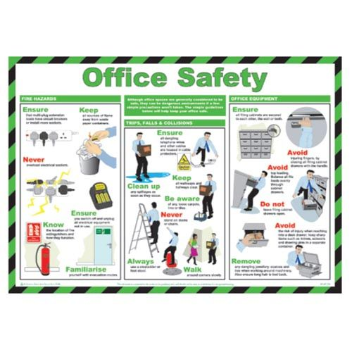 Office Safety - A few tips to keep you safe in the office.