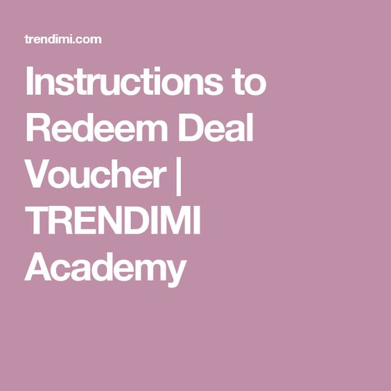 Explore Redeem Deal Course Voucher And More