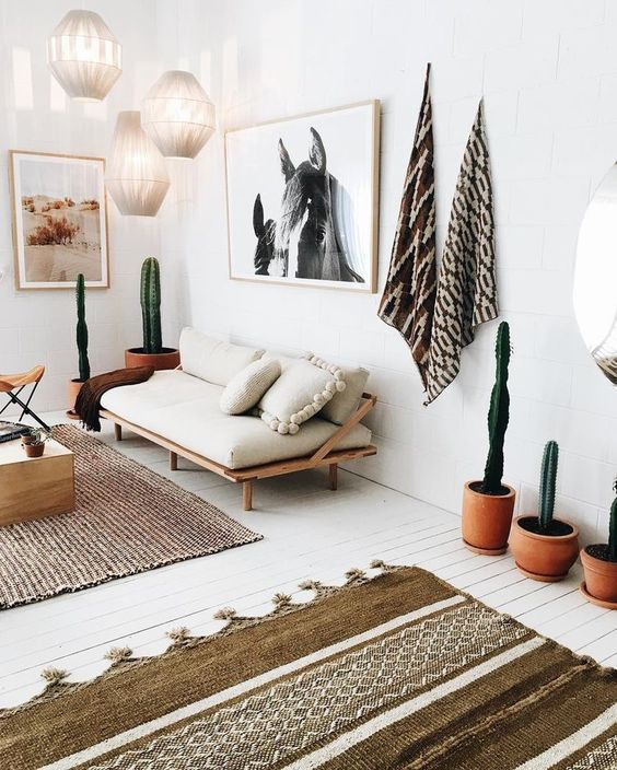 neutrale kleuren woonkamer