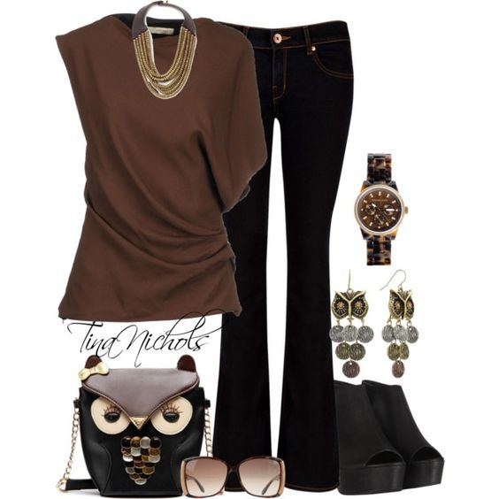 """""""Such a hoot! - 2"""" by tina-nichols on Polyvore"""