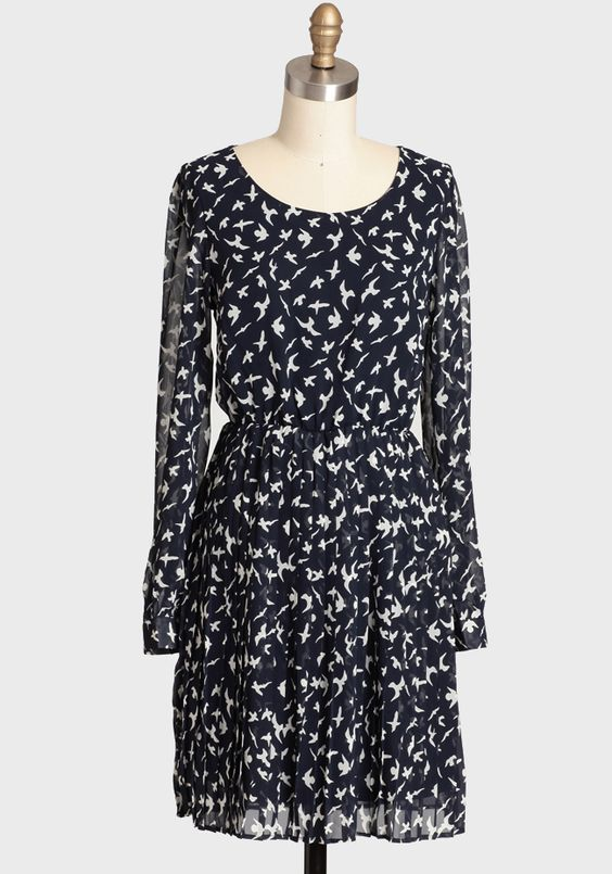 Great Heights Printed Dress