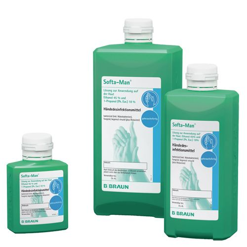 Softa Man Hand Sanitiser Medical Hygiene Products Hand