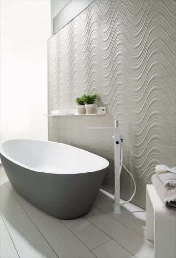 Creta gris porcelanosa tile home ideas peinture for Faience salle de bain porcelanosa