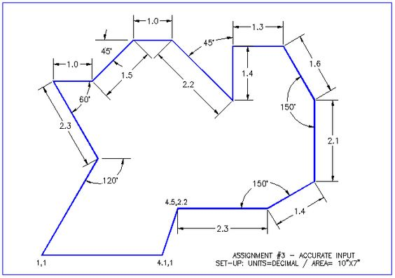how to set angle of line in autocad