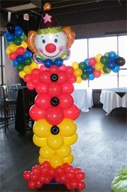 Clown Balloon Decorations