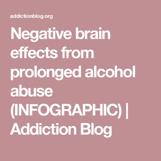 the negative effects of alcohol abuse Experts describe 12 health risks linked to chronic heavy drinking alcohol: effects on health mukamal signs of alcohol abuse article effects of crystal meth.