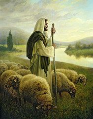 Featured Paintings - The Good Shepherd by Greg Olsen