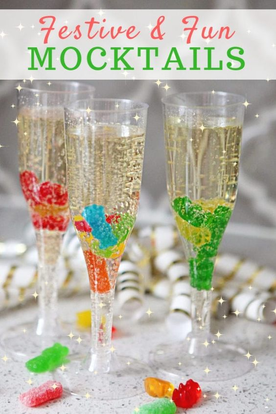 Mocktails For Kids & Adults To Brighten Up New Year's Eve