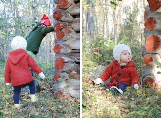 kid's hooded sweater pattern
